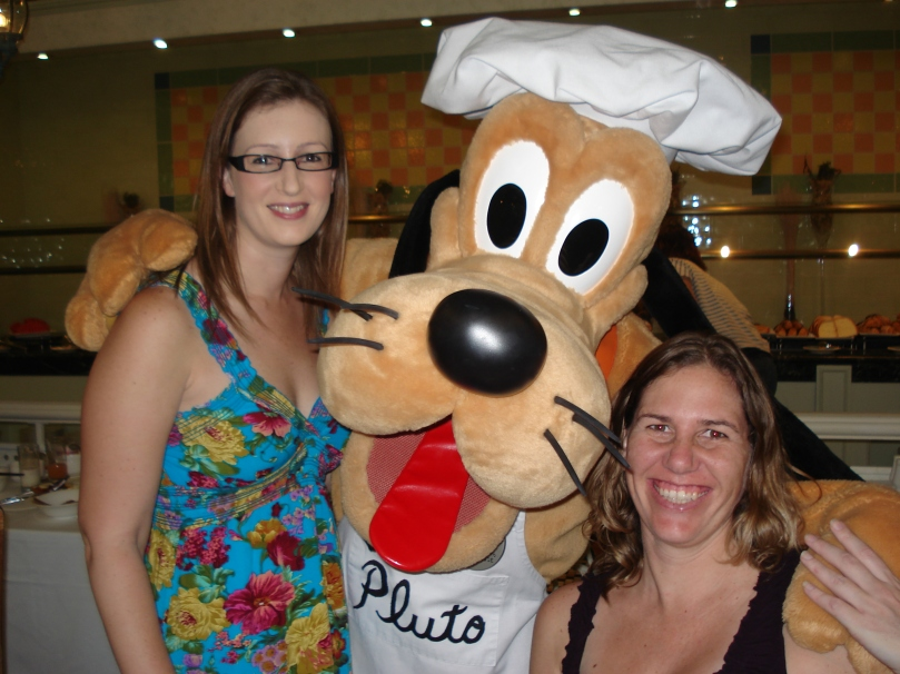 Character Breakfast at Disneyland