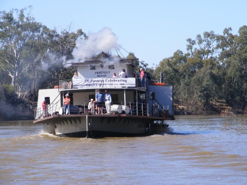 Pevensey Paddle Steamer