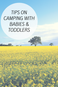 Tips on camping with babies