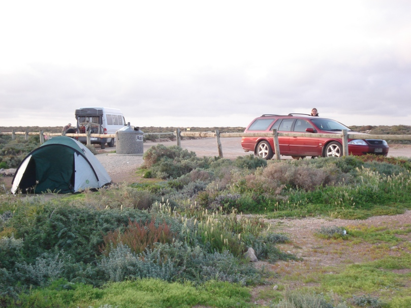Camping on the Nullarbor