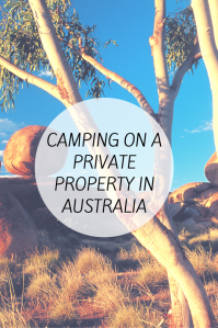 Camping in aust