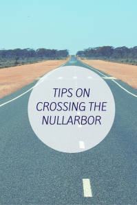 TIPS ON CROSSING THE NULLARBOR