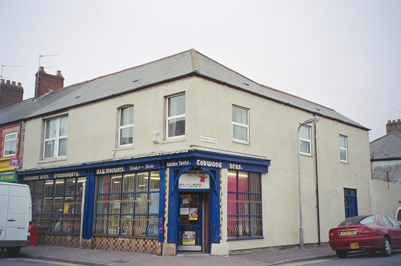 What number 49 Clifton Street, Cardiff looks like today
