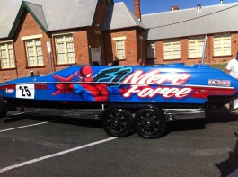Merc Force Boat