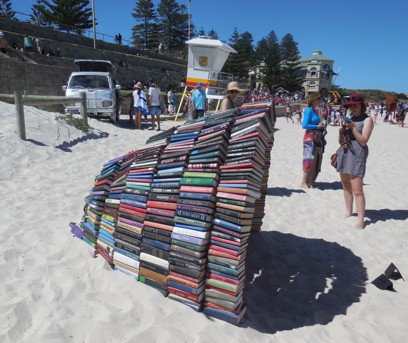 Sculptures by the sea Book Cave