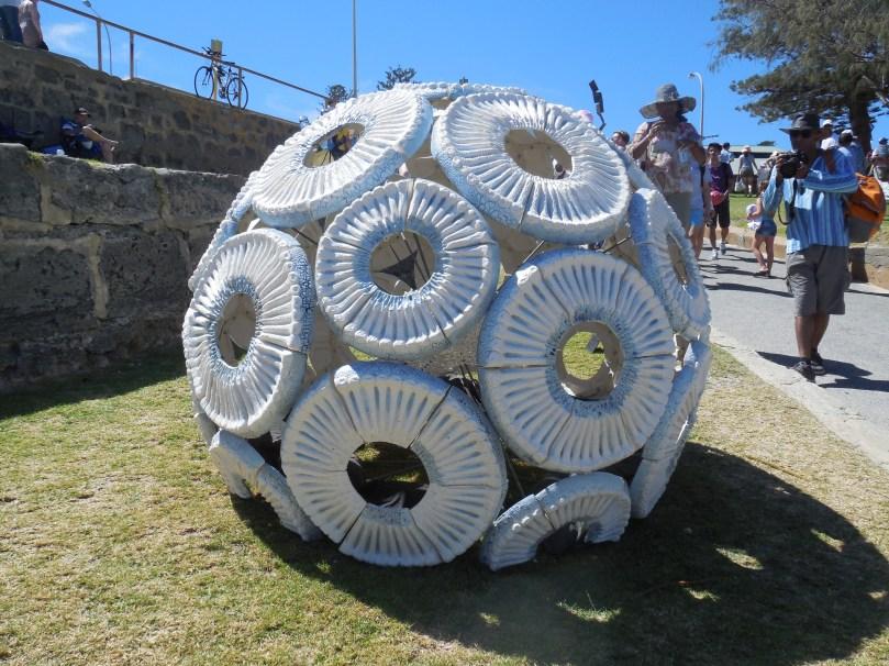 Sculptures by the sea Memories of the Ocean