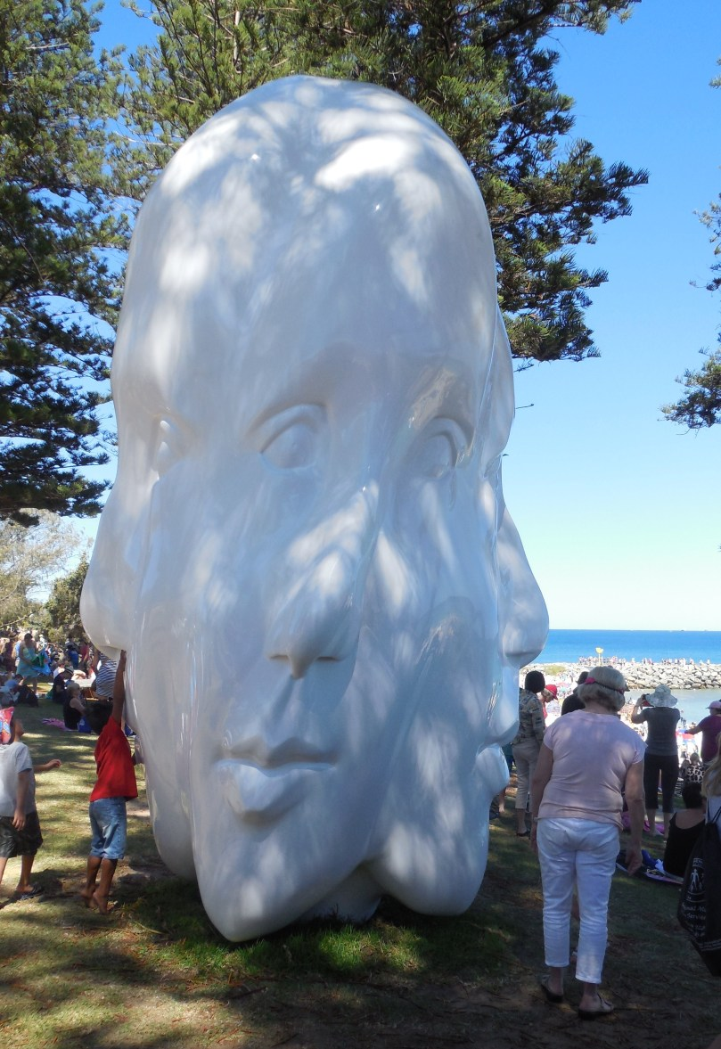 Sculptures by the sea Regeneration