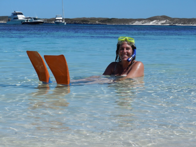 Snorkelling at Salmon Bay
