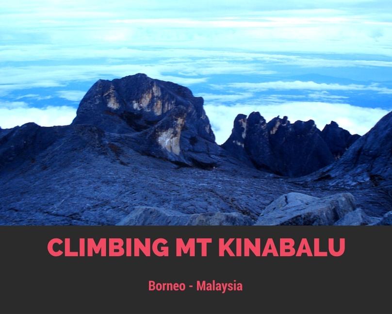 Climb Mt kinabalu