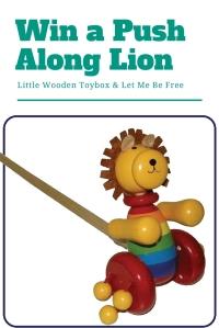 Win a push along lion