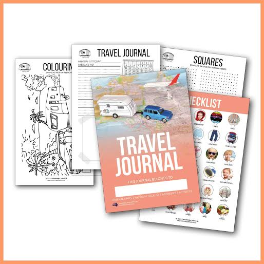 Travel journal inside