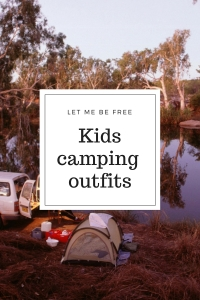Kids camping outfits