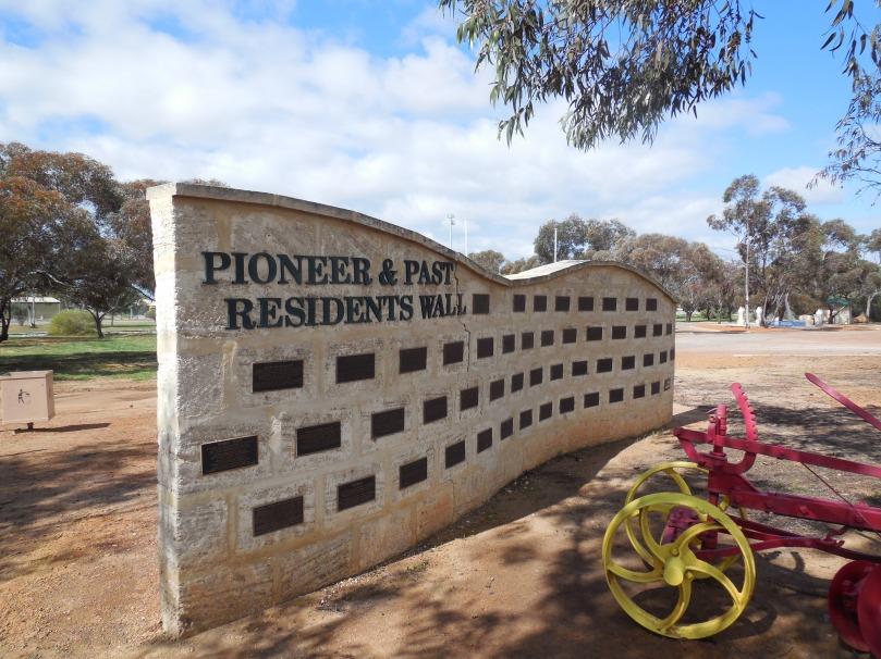 Pioneer Wall