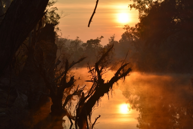 Sunrise Avon River