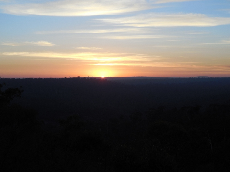 Sunrise Avon Valley National Park