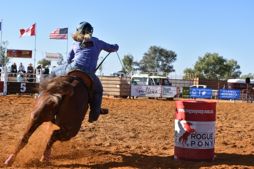 Mullewa Muster Barrel Racing