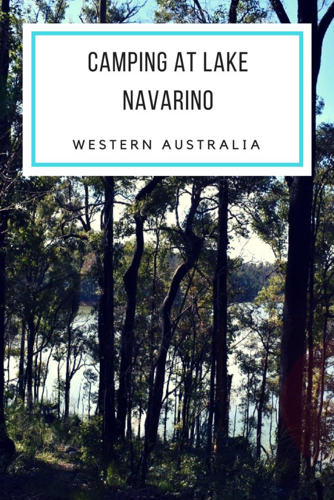 Camping at Lake Navarino