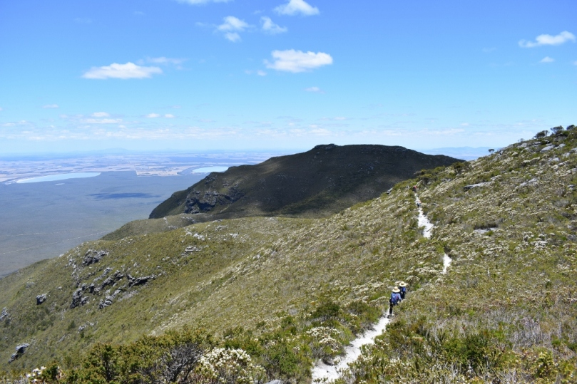 Hiking Bluff Knoll