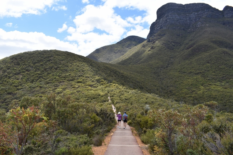 Start of Bluff Knoll