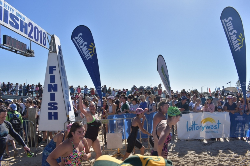 Busselton Jetty Swim Finish Line.jpg