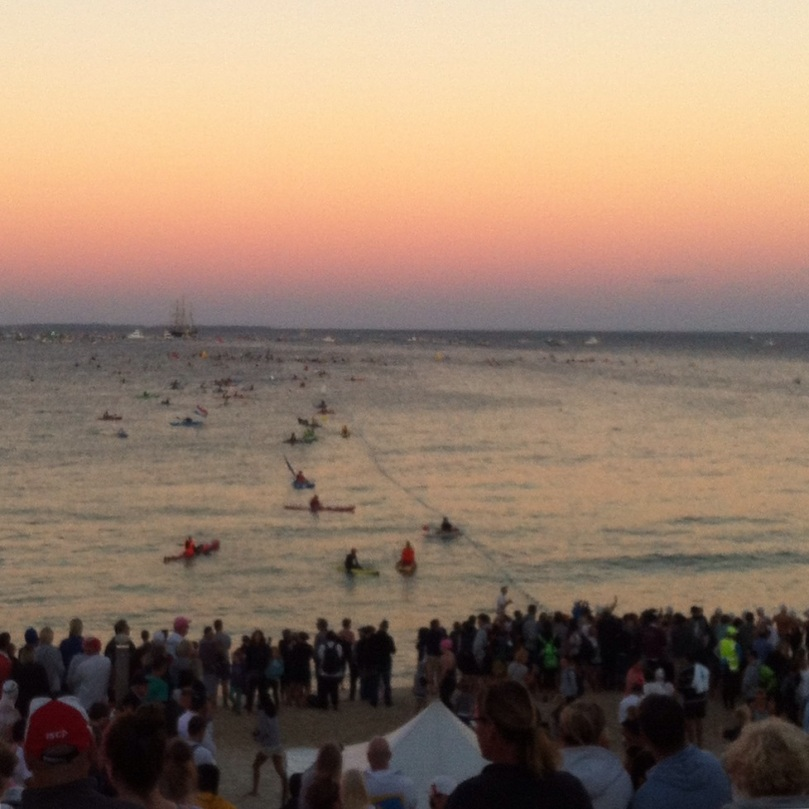 Start Line at Cottesloe Beach