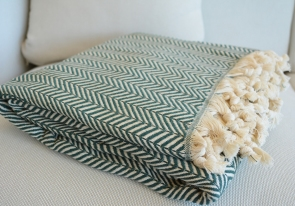 Luxurious Turkish Cotton Throw