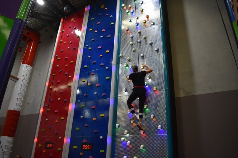 Checker Climbing wall