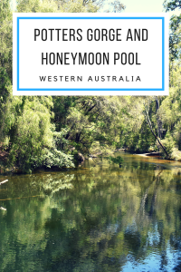 Potters Gorge and Honeymoon Pool
