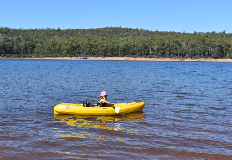 Kayak Wellington Dam