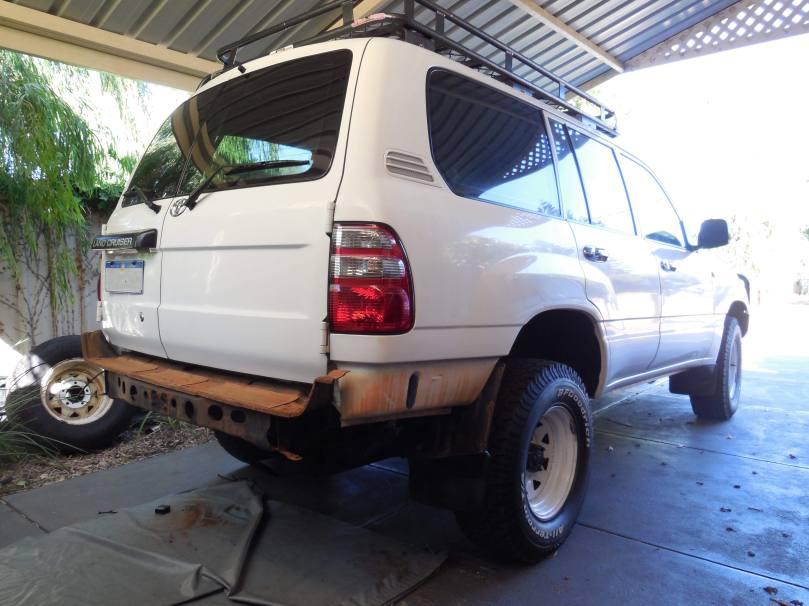 Tow Hitch of Landcruiser