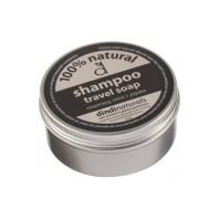 Dindi natural shampoo soap in a tin