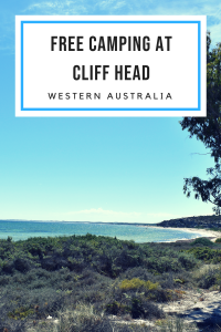 Free Camping at Cliff Head