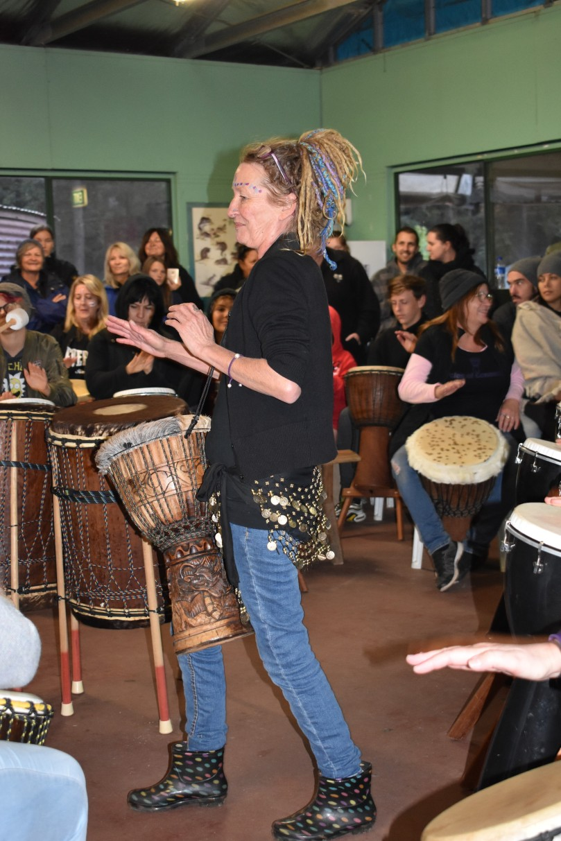 Drumming Circle leader