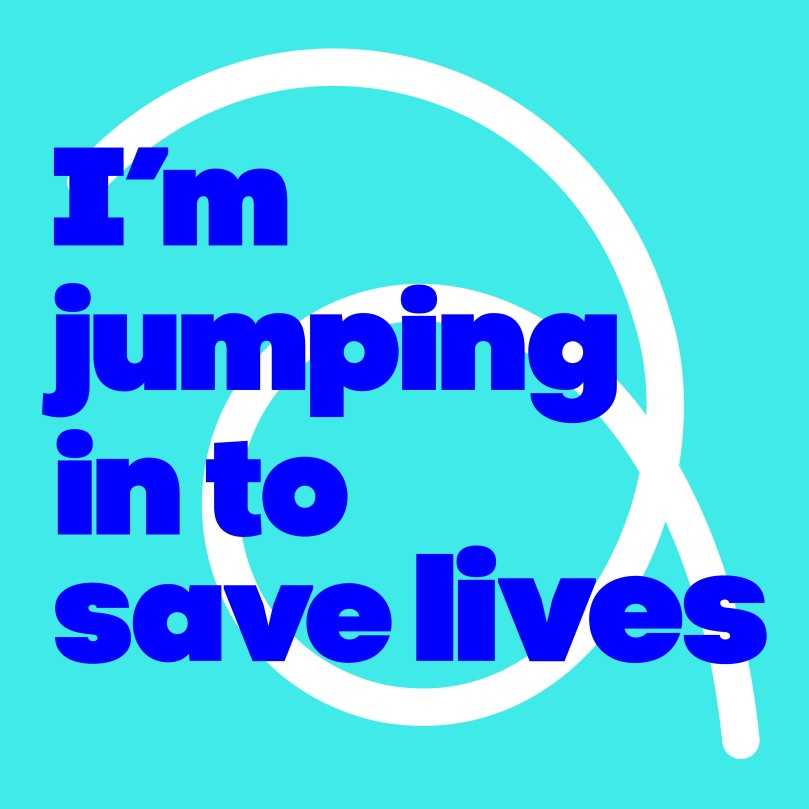 I'm jumping in to save lives
